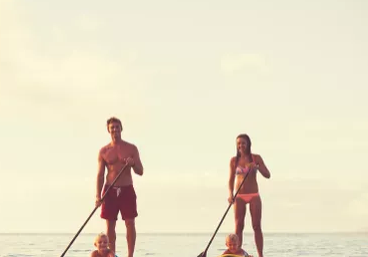 Weekend SUP hire